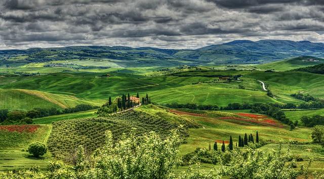 Spring of Tuscany
