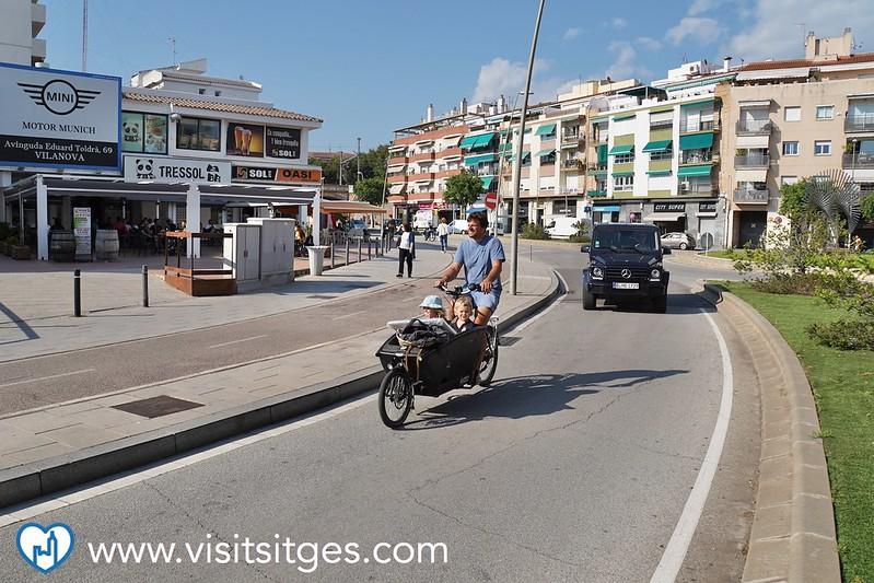 Sitges inicia una campaña específica de control de exceso de velocidad en las vías urbanas