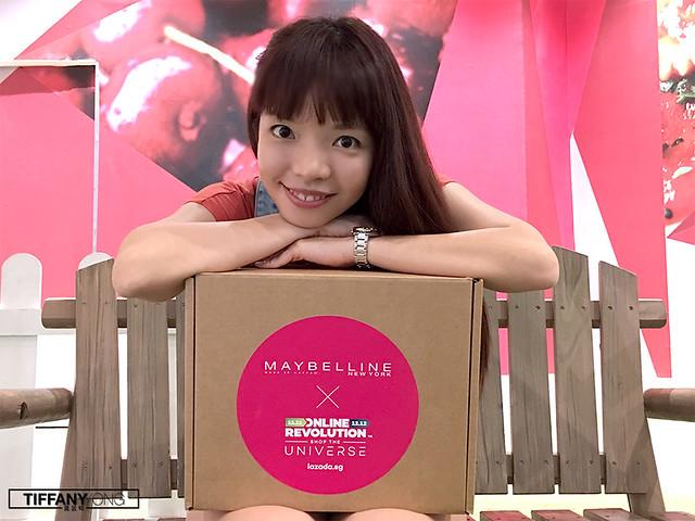 Tiffany Yong Lazada x Maybelline Online Revolution