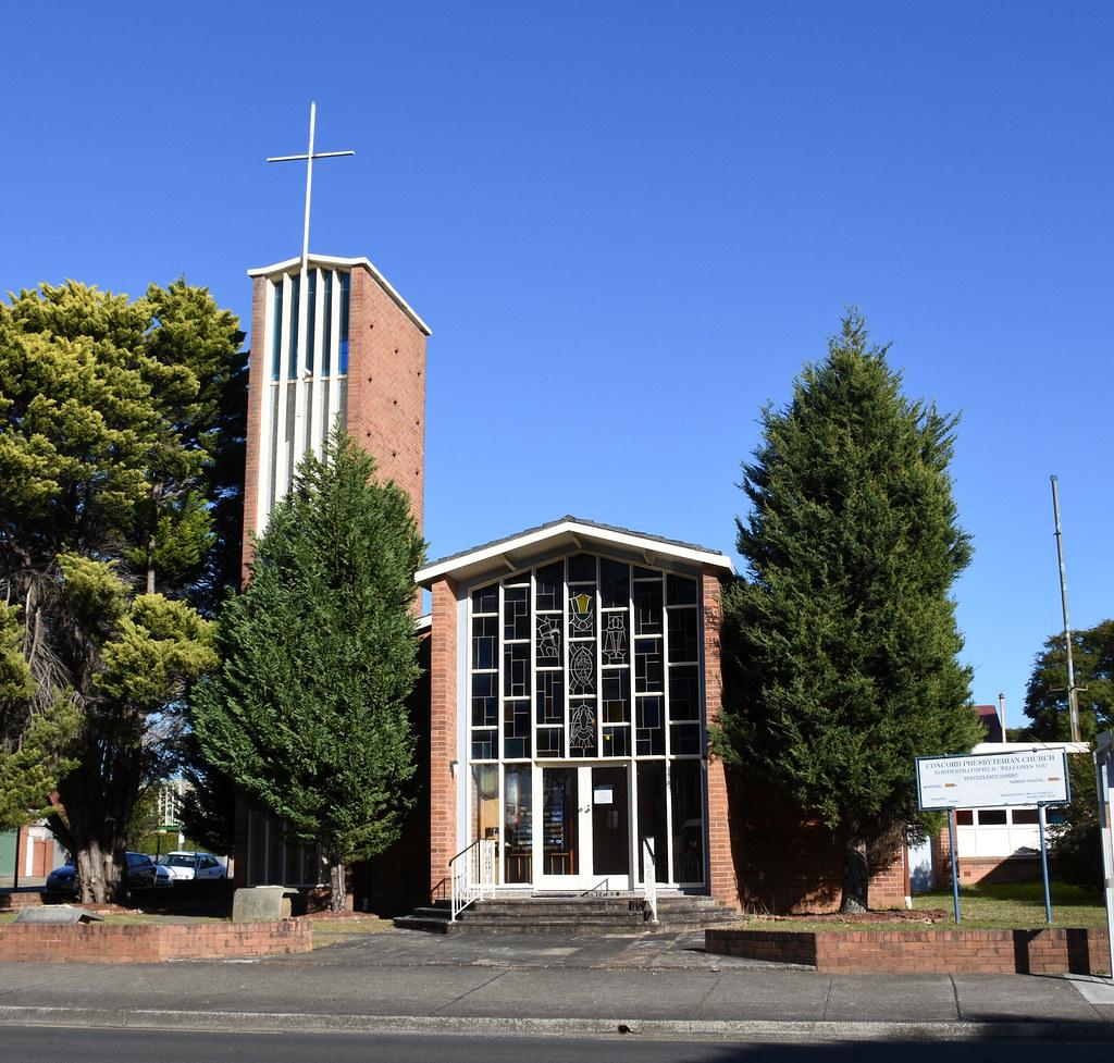 Concord Prebyterian Church, North Strathfield, Sydney, NSW.