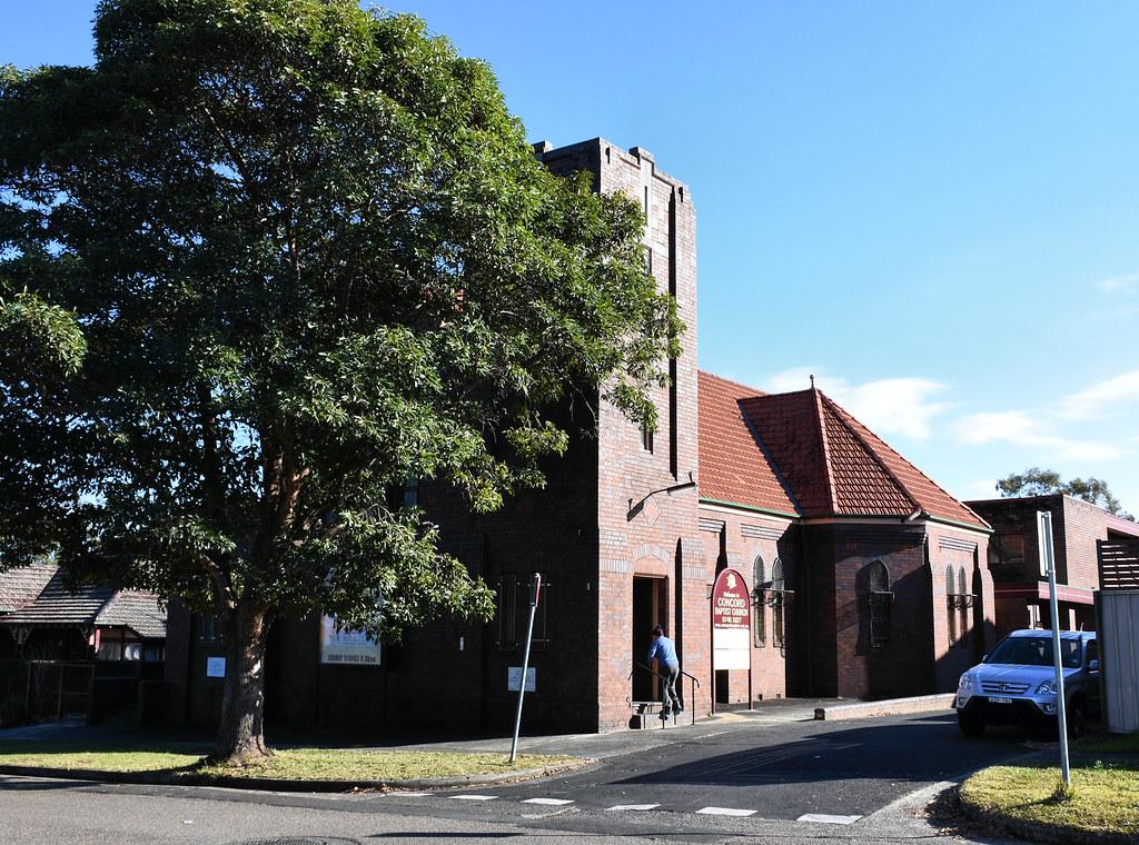 Concord Baptist Church, North Strathfield, Sydney, NSW.