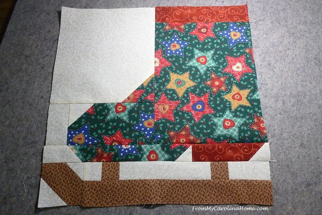 Vintage Christmas Quilt Along at FromMyCarolinaHome.com