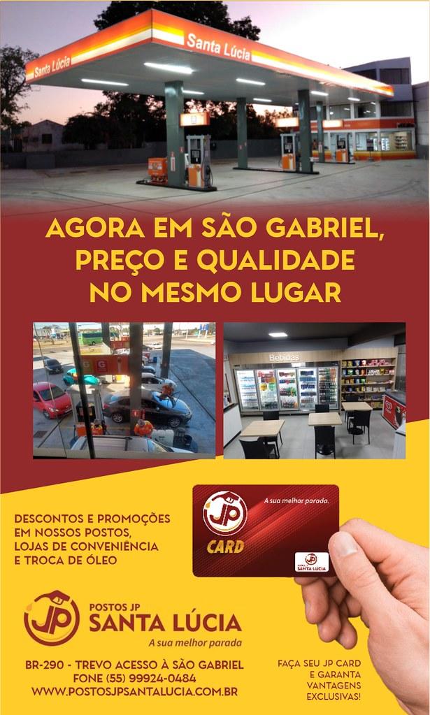 Agora em São Gabriel, preço e qualidade no mesmo lugar - Posto JP Santa Lúcia