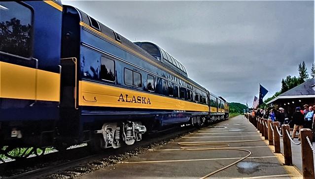 Talkeetna Station, Alaska.