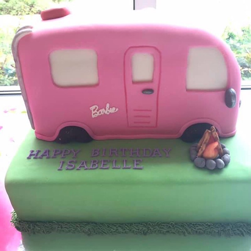 Barbie Dream Camper by Sabrina Scriven Rand of Baked By Breezy