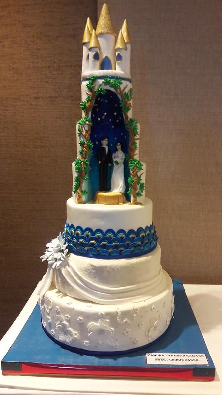 Wedding Cake by Yamuna Gamage