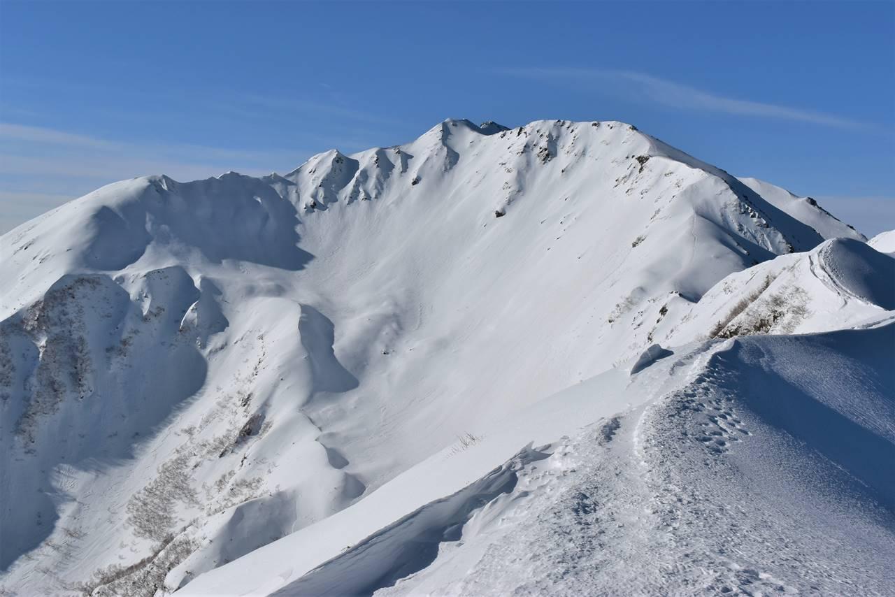 【南アルプス】冬の仙丈ヶ岳 雪山登山