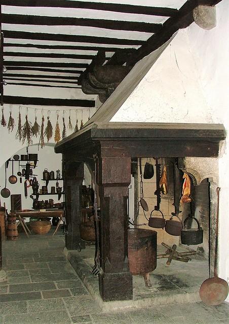 Marksburg Castle Kitchen