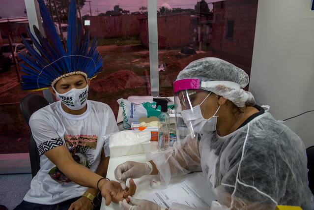 21.05.20 Prefeitura leva serviços de saúde e assistência ao Parque das Tribos