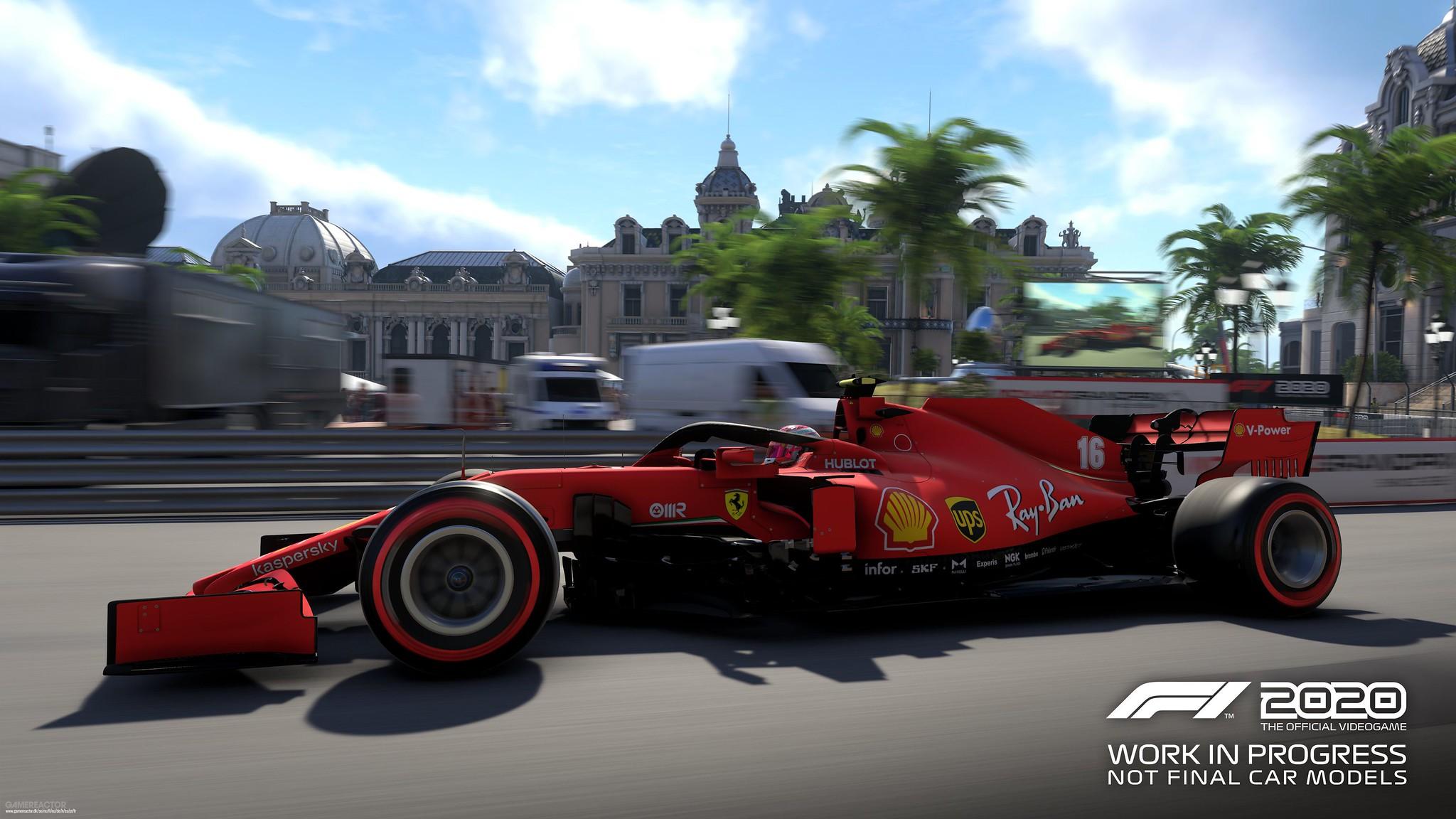 F1 2020 Circuit de Monaco 1