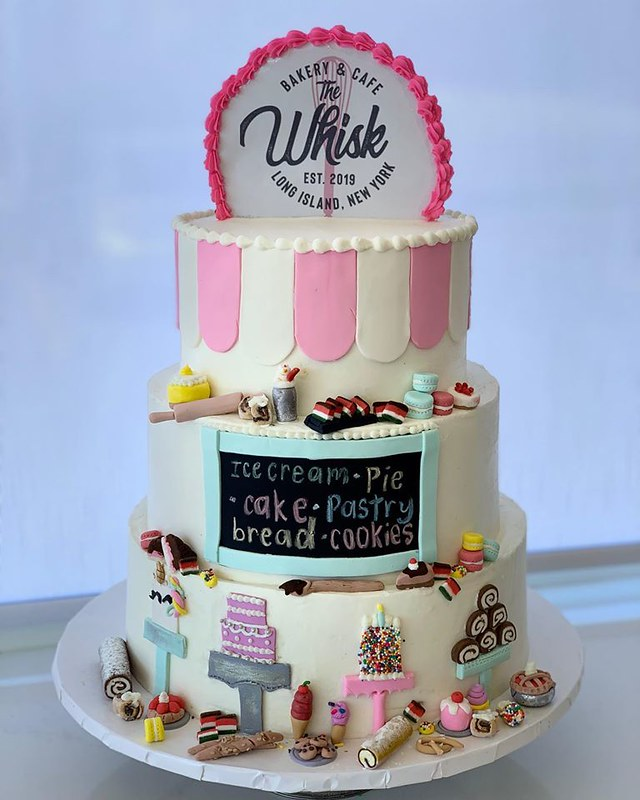 Cake by The Whisk Bakery