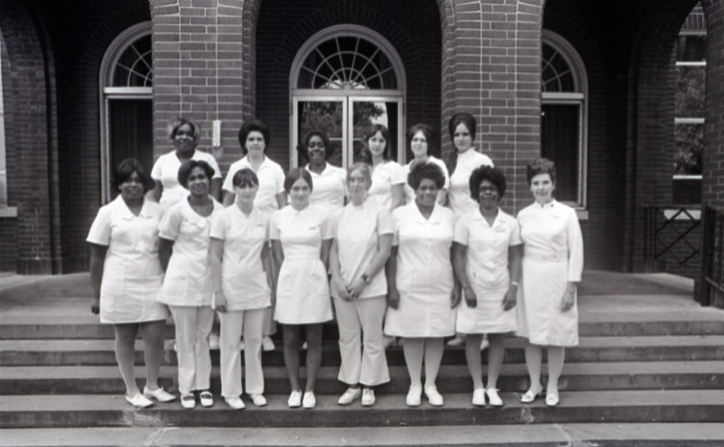Nurses at the Bordeaux Hospital