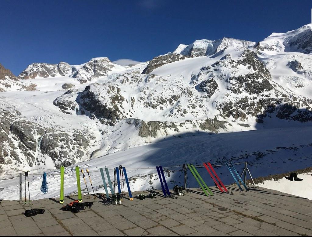 Chamanna Boval / Bovalhütte Bernina Schweiz foto 03