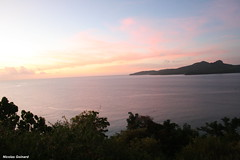 Mayotte au coucher du soleil