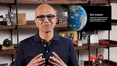 """Already, we've seen something like two years' worth of digital transformation in just two months. And we've seen how critical digital technology is in the three phases of this crisis, from emergency response to the recovery phase to the reimagining the world going forward,"" said Satya Nadella, Microsoft CEO at Build 2020."