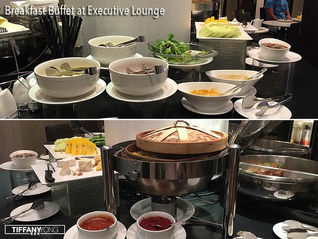 Furama City Centre Hotel Executive Lounge Breakfast