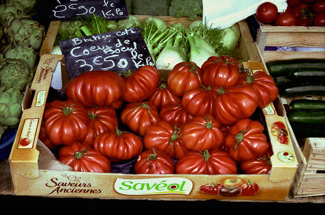 Heirloom Tomatoes, Ferney-Voltaire Market