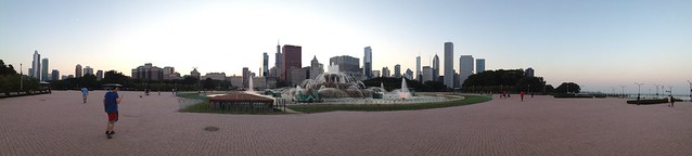 Panorama at Grant Park