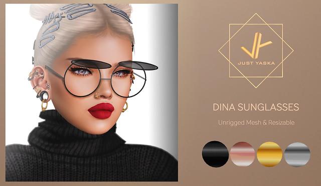 Dina Sunglasses x Shiny Shabby ♥