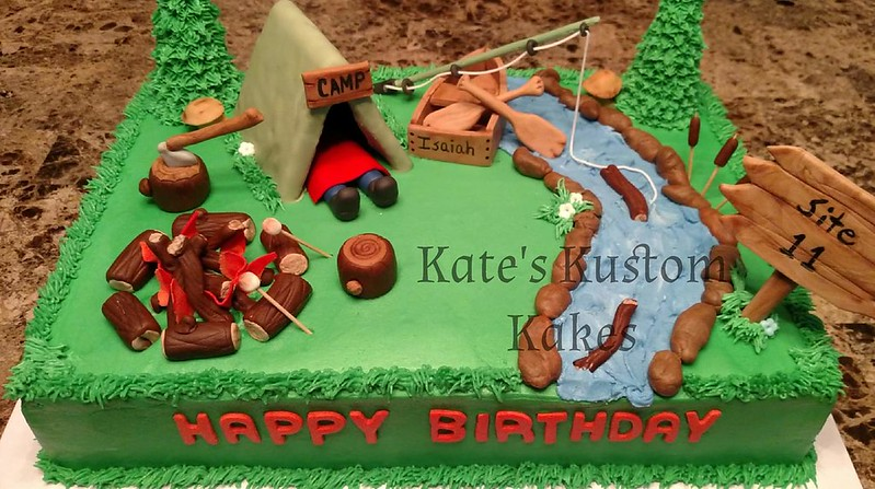 The Great Outdoors by Kate's Kustom Kakes and Kreations in Kevil KY