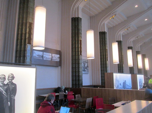Lighting, Helsinki Central Railway Station Booking Hall