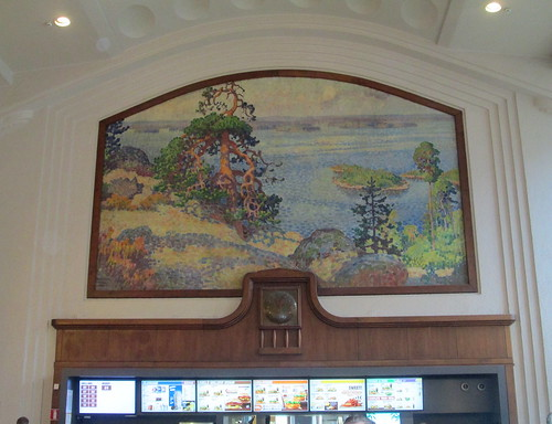Mural and Clock, Helsinki Central Railway Station