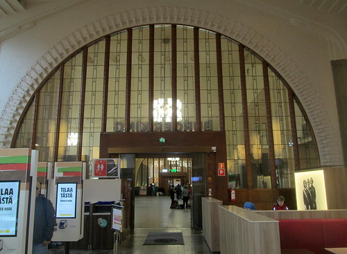Interior Window Wall, Helsinki Central Railway Station