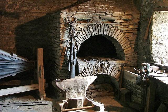 Marksburg Castle Blacksmith Shop