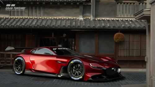Mazda RX-VISION GT3 CONCEPT Side