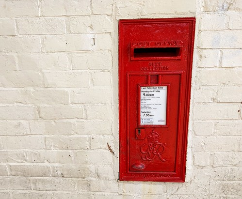 Really old post box in Preston | by Tony Worrall