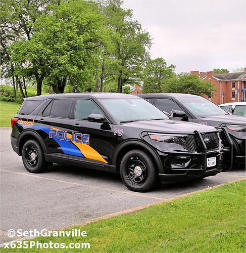 Shepherd University Police Department Car 70 Photo