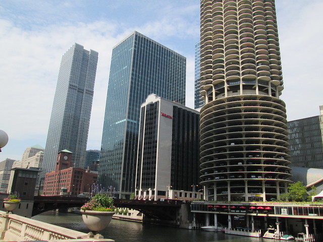 View at Wacker Drive and State Street