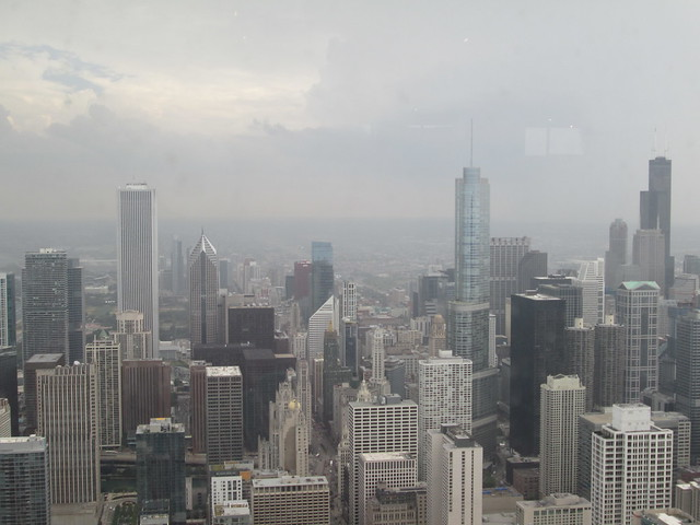View from the John Hancock Observatory