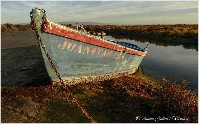 La barca d'en Joan. (Delta de l'Ebre - Catalunya).