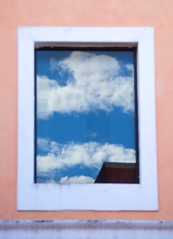 Throw open your window and let the scenery of clouds and sky enter your room!     ~~ Yosa Buson