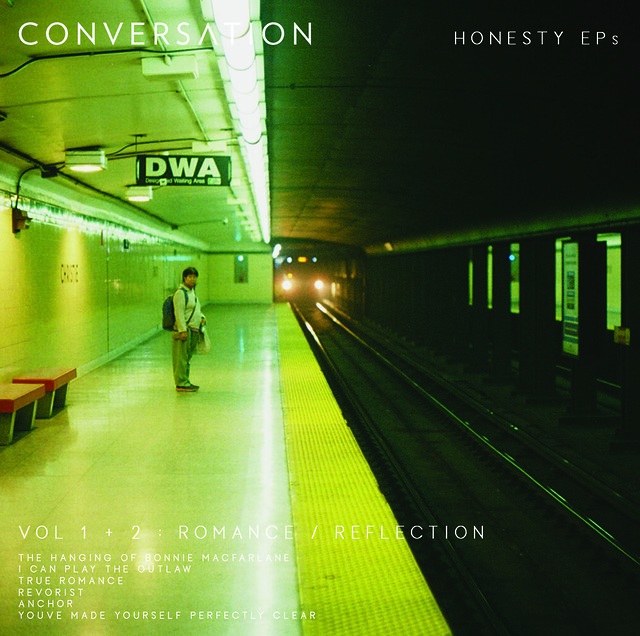 UnCovered: Toronto's CONVERSATION Detail the Awesome Album Artwork for 'The Honesty EPs'
