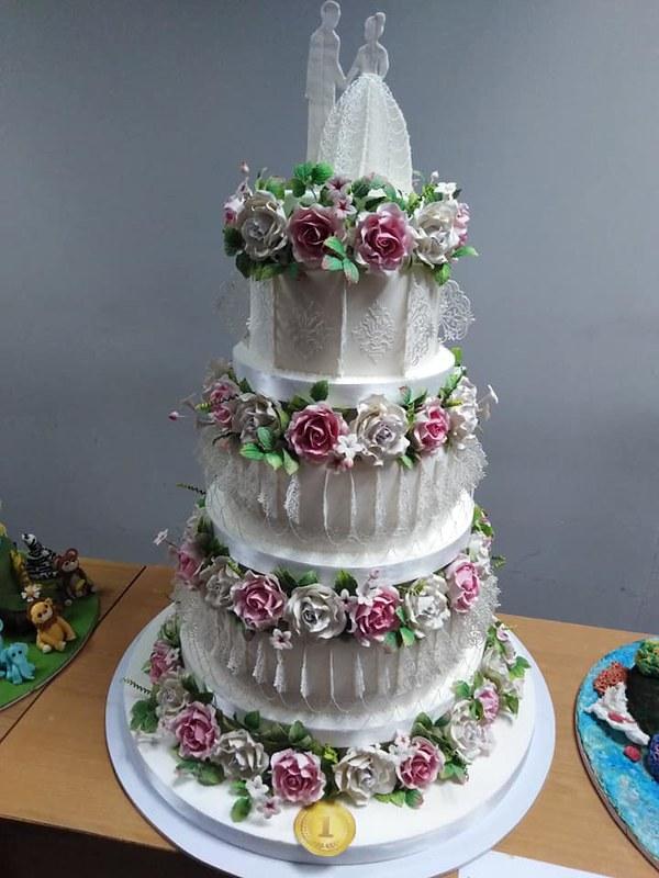 Wedding Cake from Cake By Shashi
