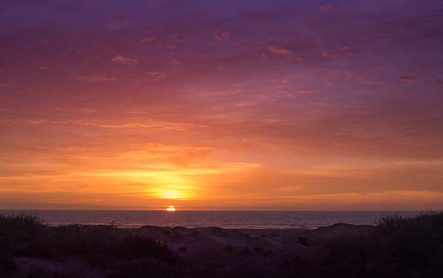 Morro Strand Sunset
