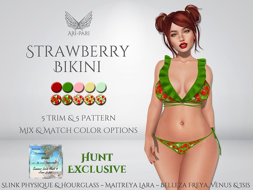 [Ari-Pari] Strawberry Bikini