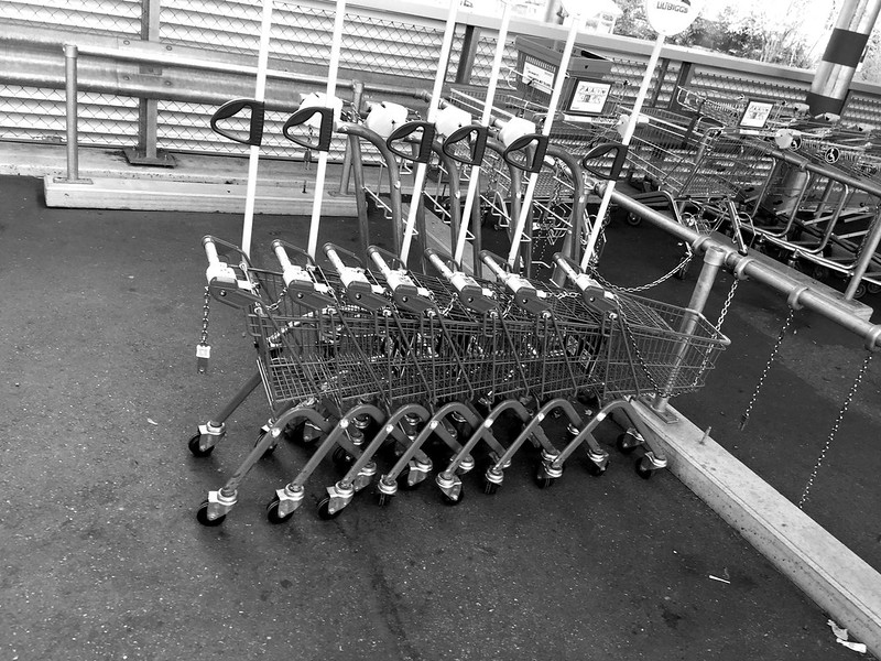 Children superarket trolleys