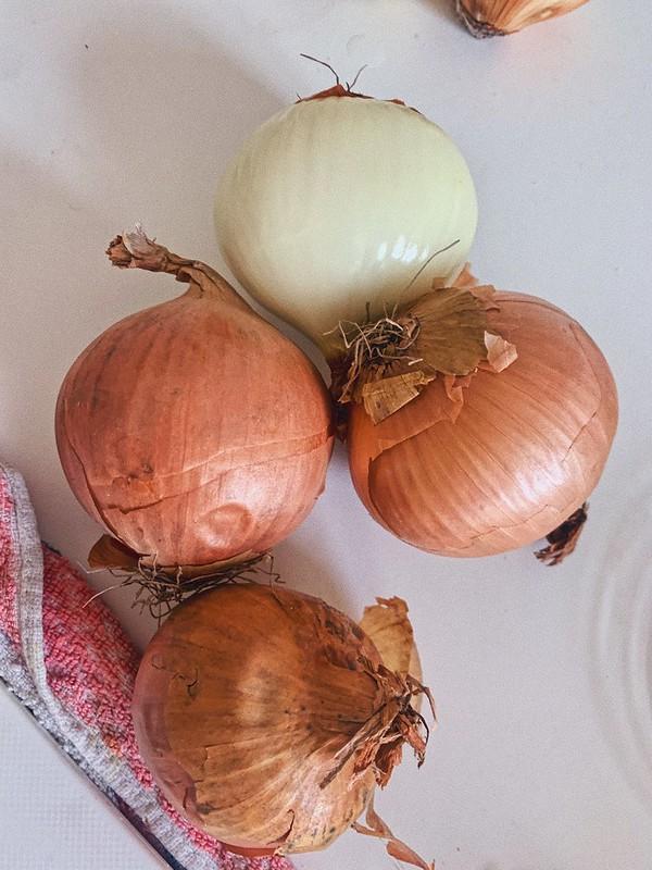 Cebollas para cocinar Stoofvlees