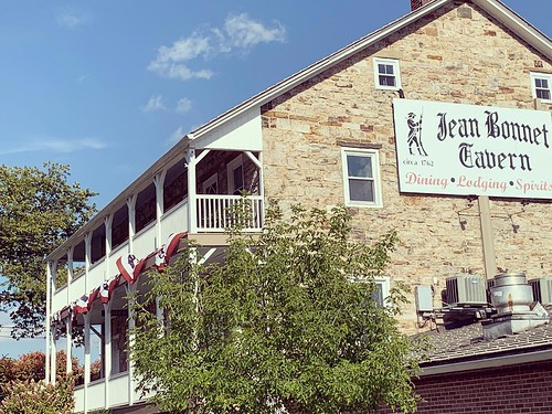 Jean Bonnet Tavern. From Why Bedford, PA was the Perfect Place for a Mother/Daughter Trip