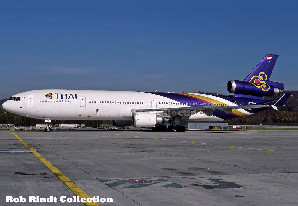 Thai Int'l Airways MD-11 HS-TMD