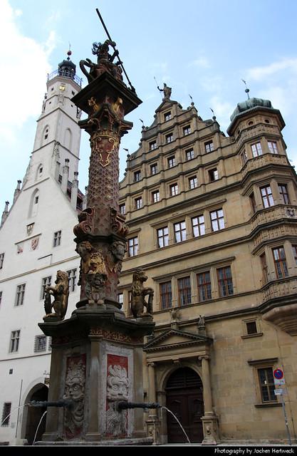Rathaus, Rothenburg ob der Tauber, Germany