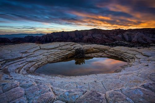 2019 stgeorge utah desert landscape nature snowcanyon sunset hdr photomatix reflection snowcanyonstatepark