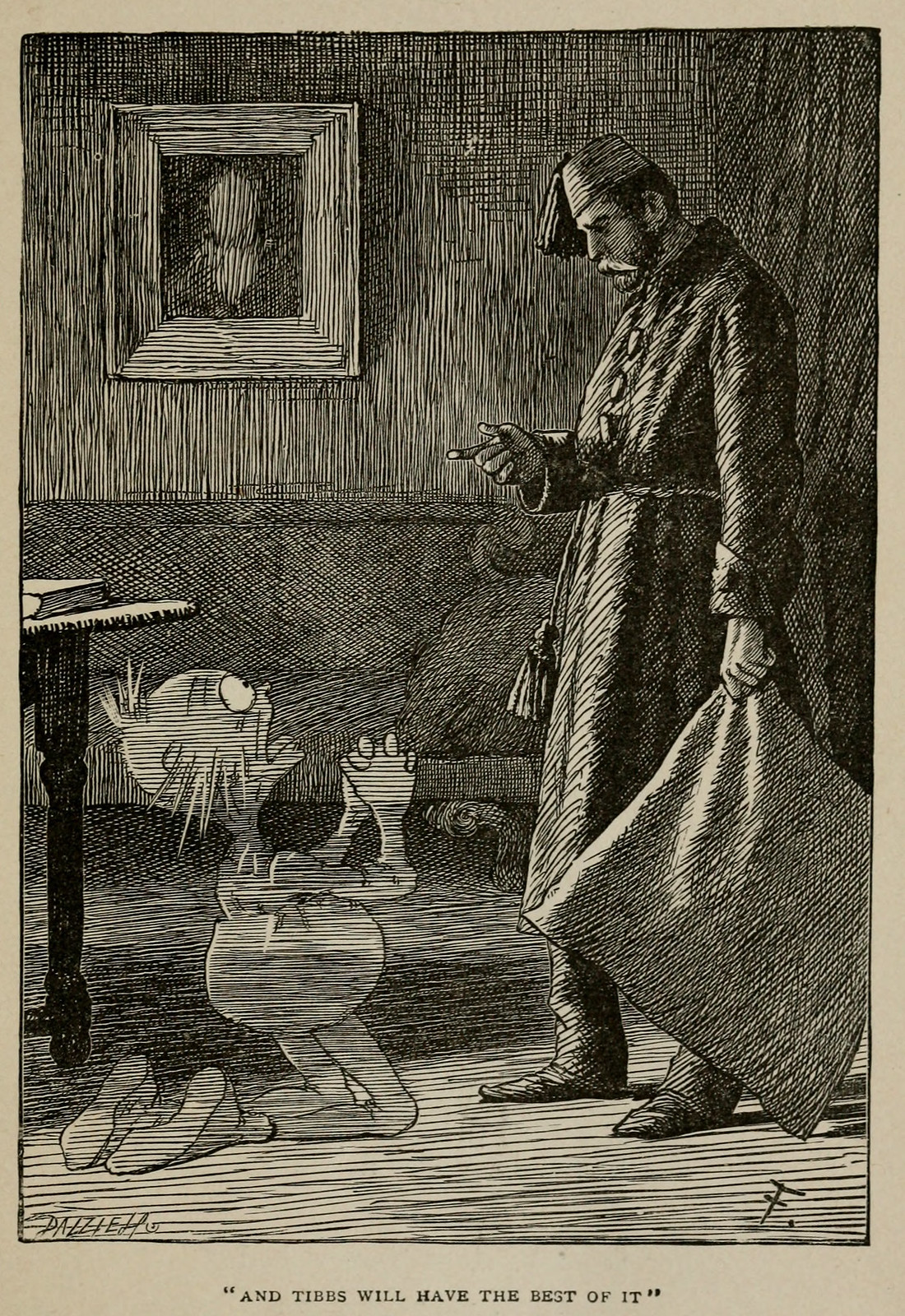 "Arthur Burdett Frost - Illustrations for Lewis Carroll's ""Rhyme? and Reason?"" 1901, 04"