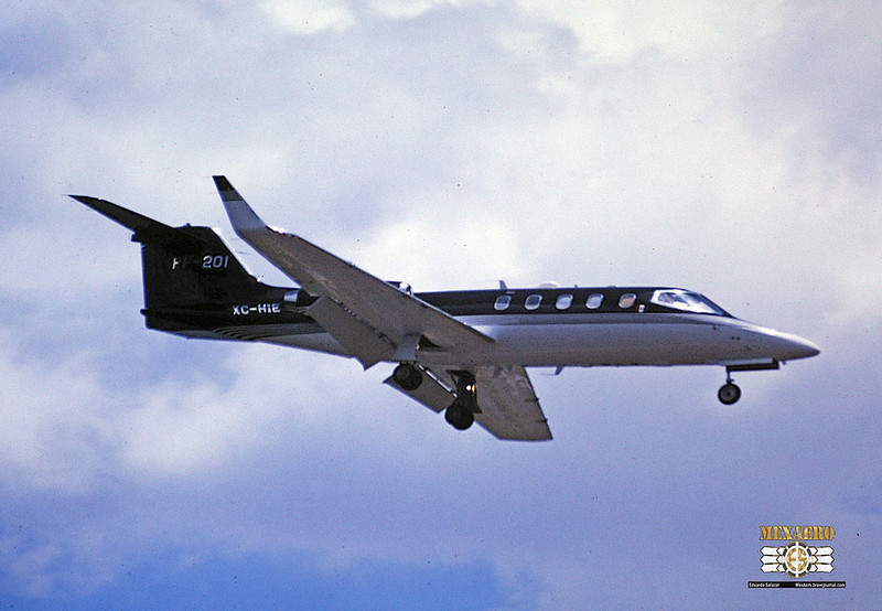 Policía Federal Preventiva / Learjet 45 / XC-HIE
