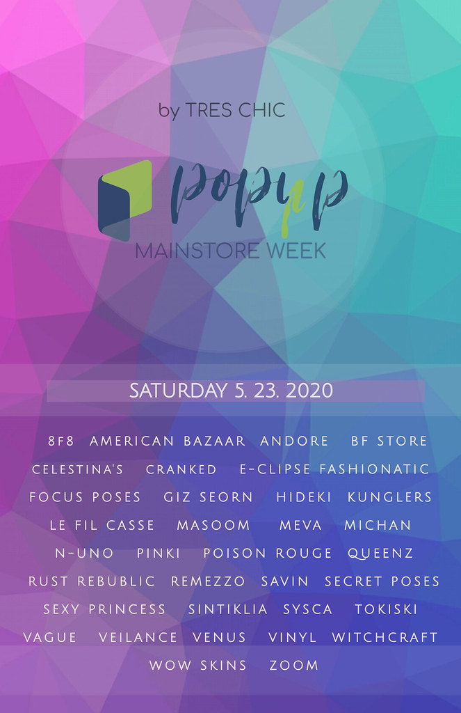 POP-UP MAINSTORE WEEK By TRES CHIC