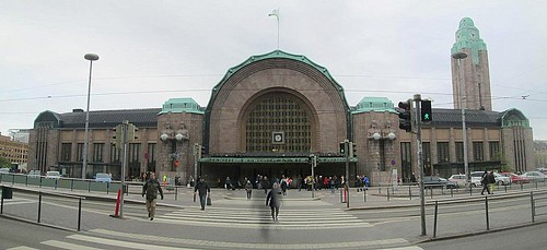Main Entrance Helsinki Central Railway Station