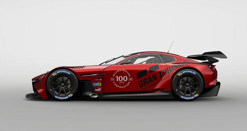 Mazda RX-VISION GT3 CONCEPT Profile